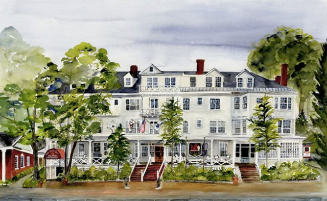 """Red Lion Inn-Summer"""